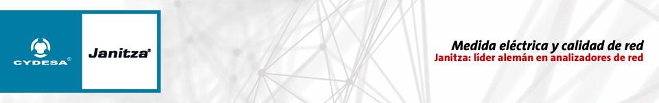 CYDESA Janitza. Soluciones en calidad de potencia. Medida eléctrica y calidad de red: Janitza, líder alemán en analizadores de red