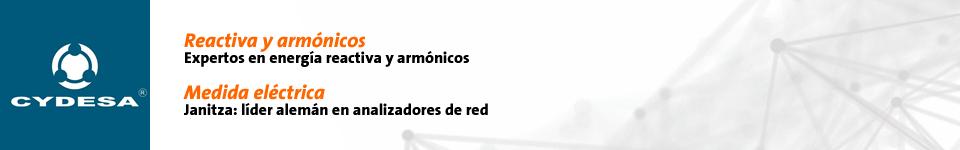 CYDESA. Soluciones en calidad de potencia. Reactiva y armónicos: Expertos en energía reactiva y armónicos. Medida electrónica: Janitza, líder alemán en analizadores de red