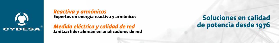 CYDESA. Soluciones en calidad de potencia. Reactiva y armónicos: Expertos en energía reactiva y armónicos. Medida eléctrica y calidad de red: Janitza, líder alemán en analizadores de red